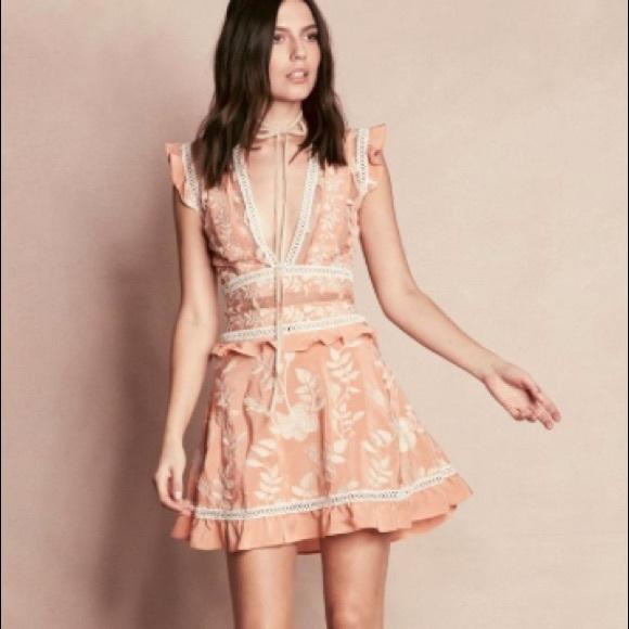 For Love And Lemons Dresses For Love Lemons Mia Mini Dress Poshmark